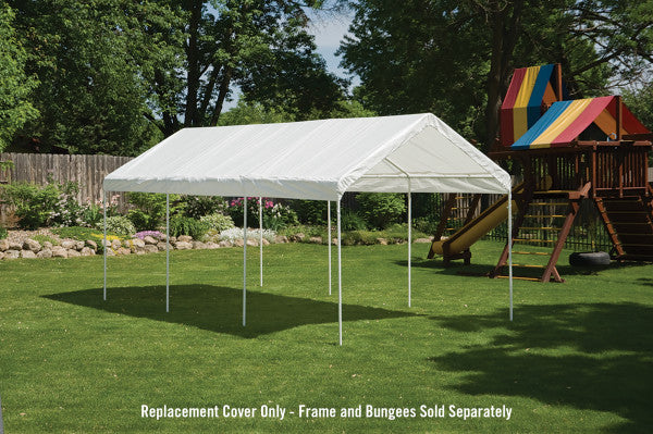 10x20 ft SuperMax Heavy Duty Eight Leg Gazebo Canopy Tent Replacement Cover