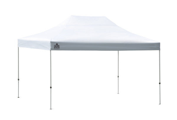 10x15 ft. Special Event Quik Shade Commercial Grade Straight Leg Pop-Up Canopy Tent - White