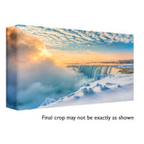 """Winter Sunrise Over Niagara Falls"" - Order # 388"