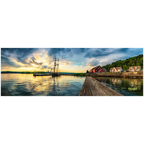 """Discovery Harbour at Sunset"" - Order # 527"