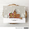 Gingerbread House Scene Card