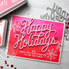 Holidays Message in Pink