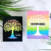 Video: Two Cards at Once - Rainbow Trees!