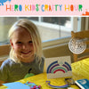 Hero Kids Crafty Hour: You Can Never Have Too Many Rainbows