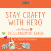 Introducing the Hero Arts Stay Crafty Challenge!
