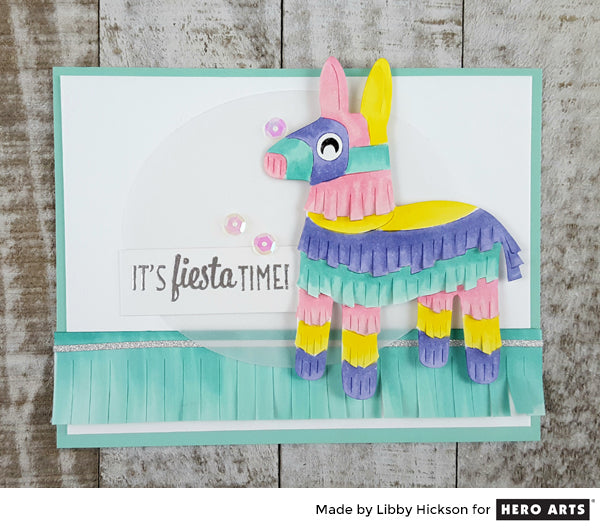 Fiesta Pinata by Libby Hickson for Hero Arts