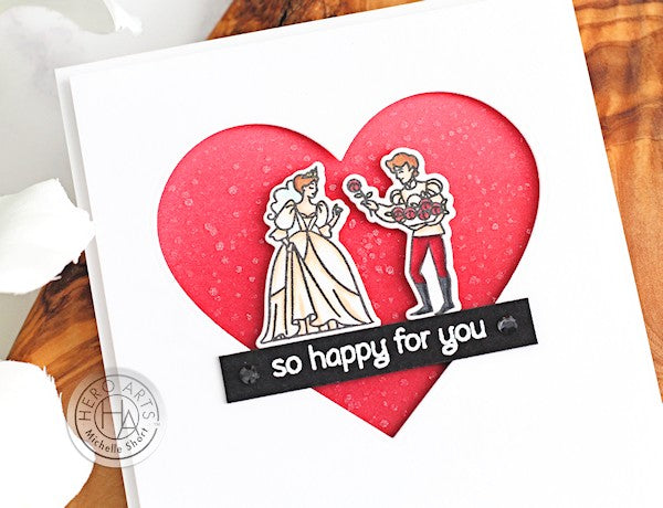 So Happy for You by Michelle Short for Hero Arts