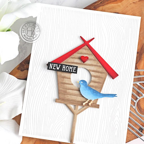 New Home Bird House by Michelle Short for Hero Arts