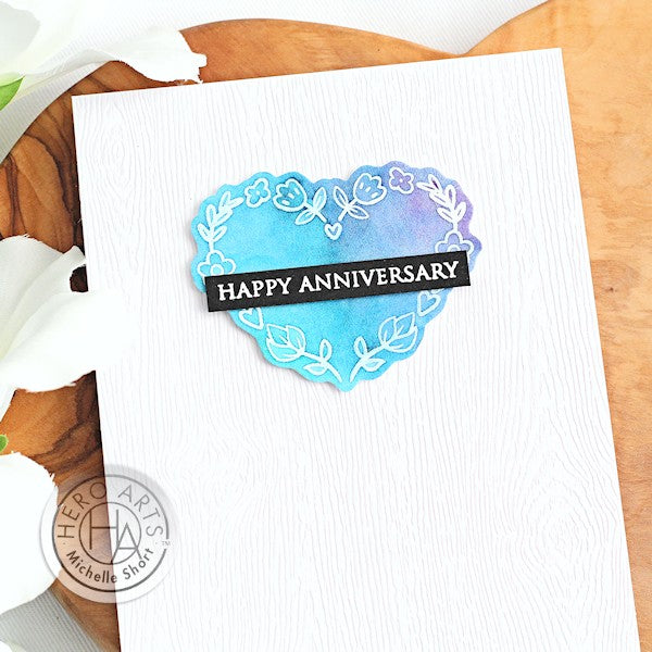 Anniversary Heart by Michelle Short for Hero Arts