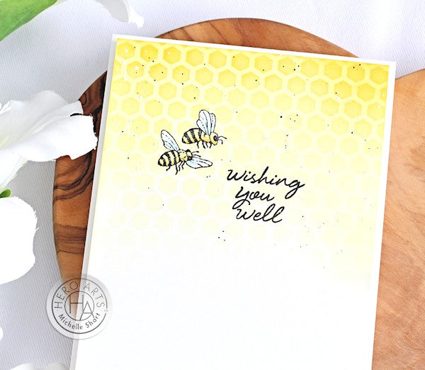 Wishing You Well by Michelle Short for Hero Arts