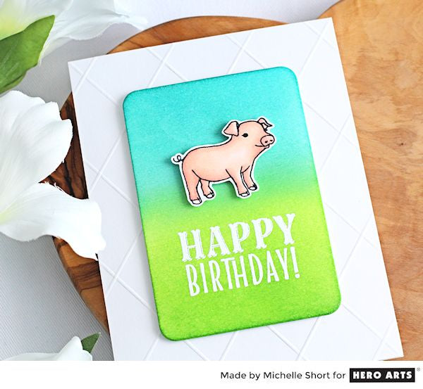 Hay Party Animals by Michelle Short for Hero Arts