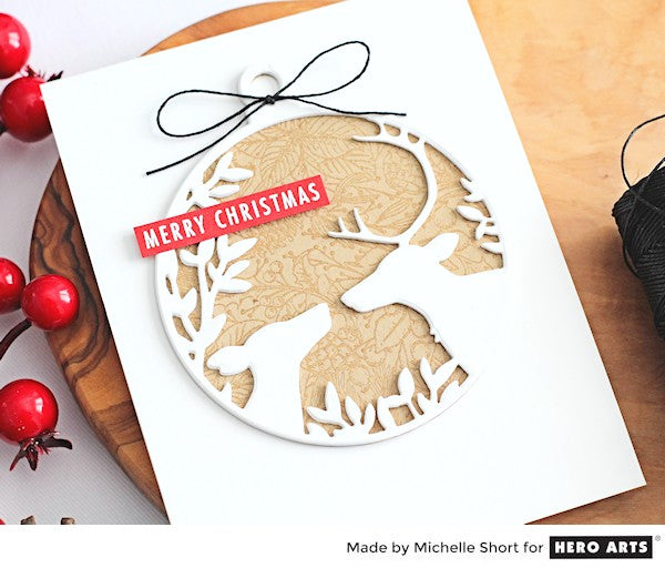 Holiday Foliage Ornament by Michelle Short for Hero Arts
