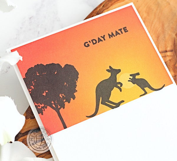 G'Day Mate by Michelle Short for Hero Arts