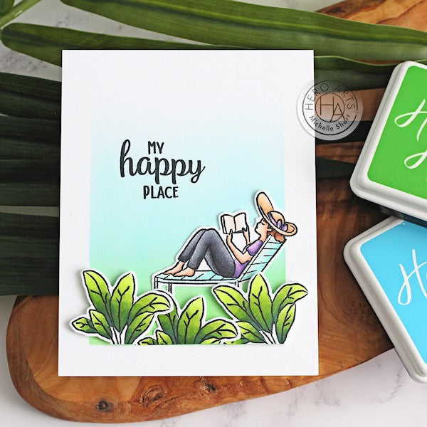 My Happy Place by Michelle Short for Hero Arts