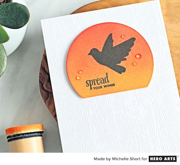 Spread Your Wings by Michelle Short for Hero Arts