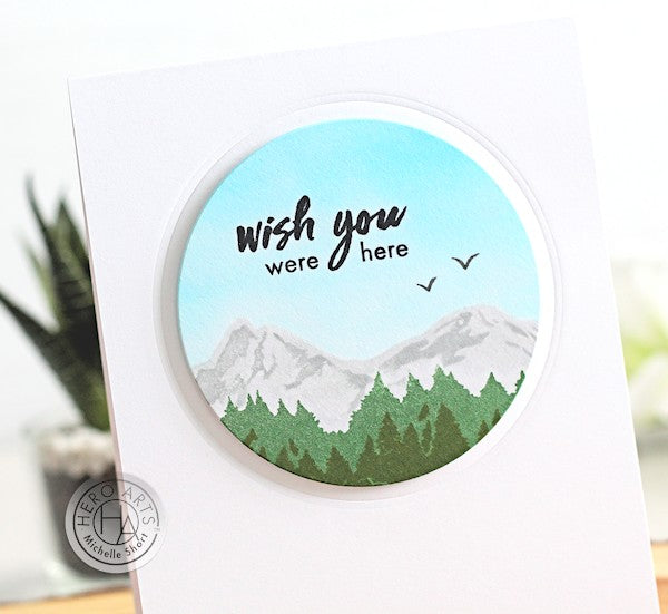 Wish You Were Here by Michelle Short for Hero arts