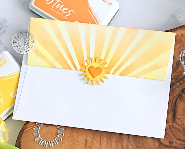 Envelope Art by Michelle Short for Hero Arts