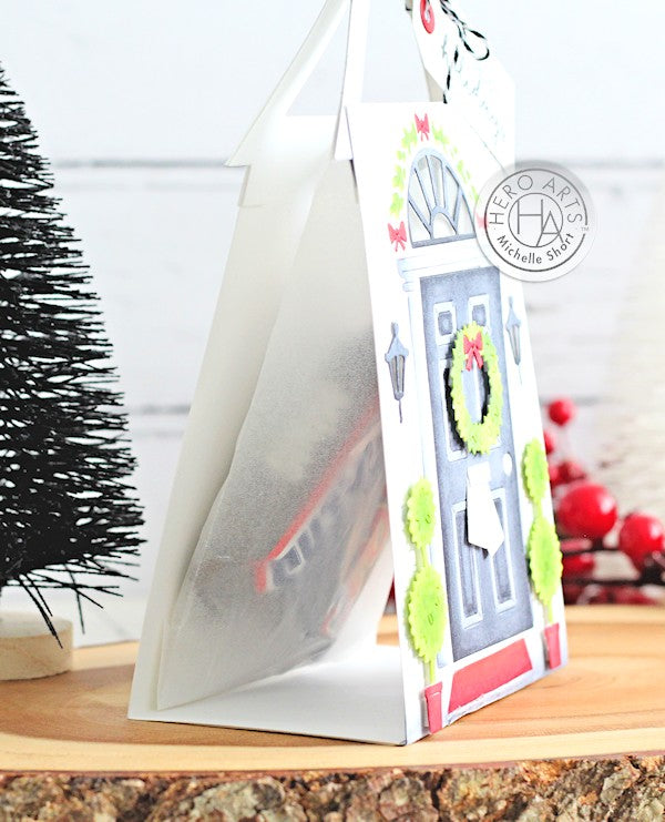 Holiday Treat Bag by Michelle Short for Hero Arts