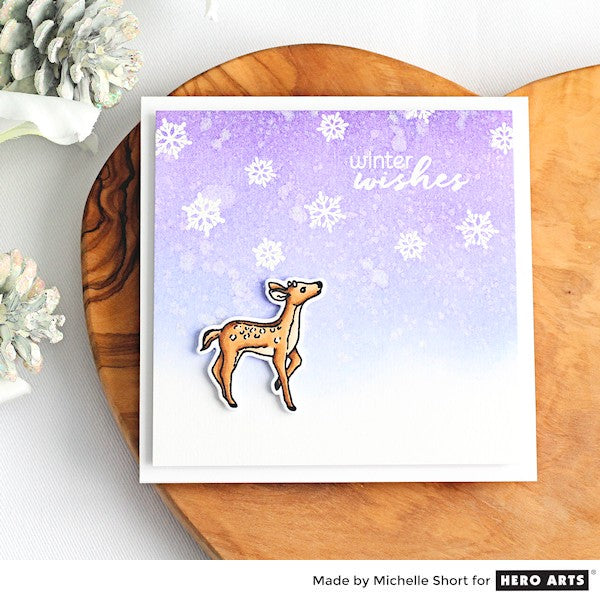 Winter Wishes by Michelle Short for Hero Arts