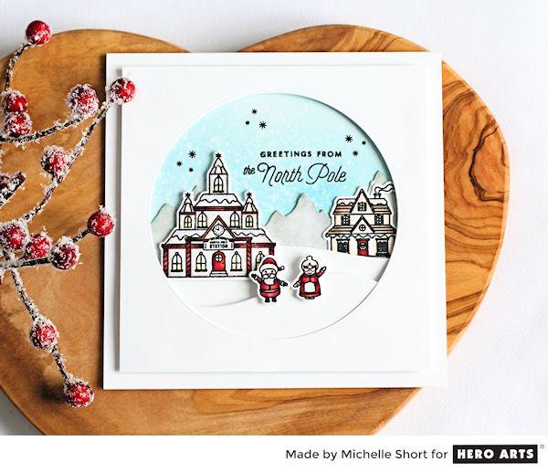 North Pole by Michelle Short for Hero Arts