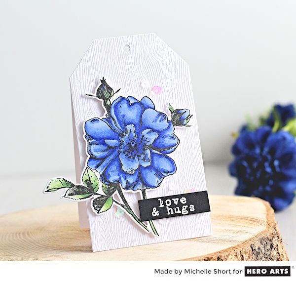 Hero Florals Rose Stem by Michelle Short for Hero Arts