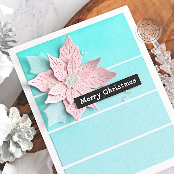 Christmas Poinsettia by Michelle Short for Hero Arts