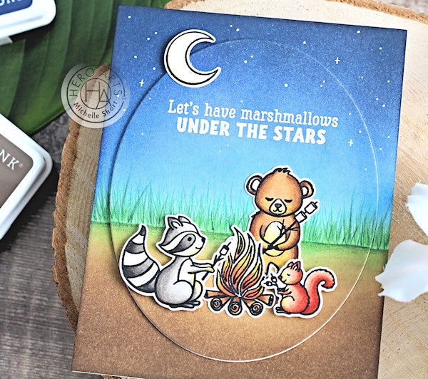 Marshmallows Under The Stars by Michelle Short for Hero Arts