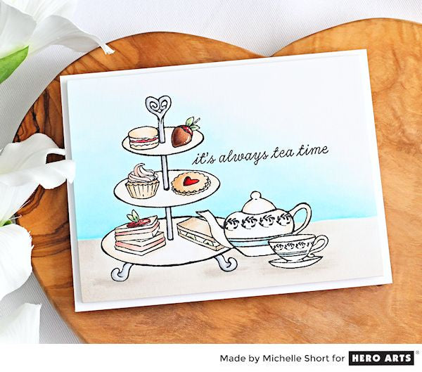 Tea Time by Michelle Short for Hero Arts