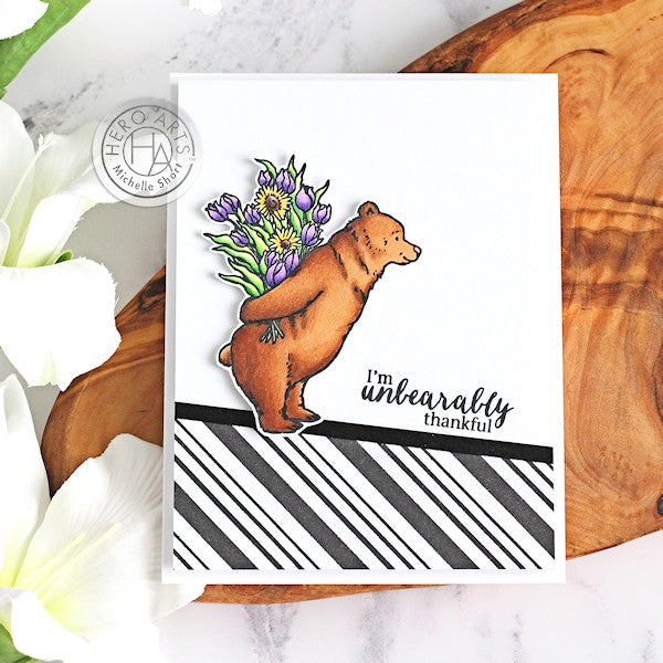 Unbearably Thankful by Michelle Short for Hero Arts