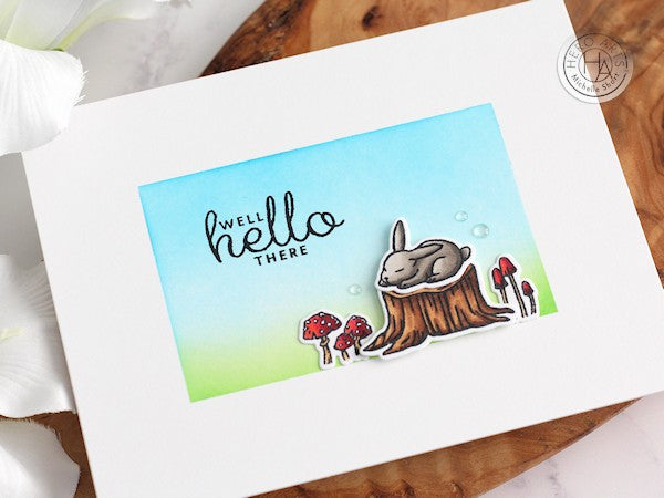 Well Hello There by Michelle Short for Hero Arts