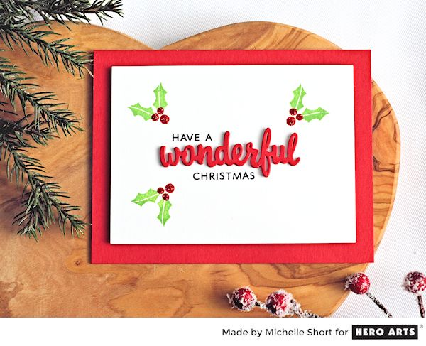 Wonderful Christmas by Michelle Short for Hero Arts