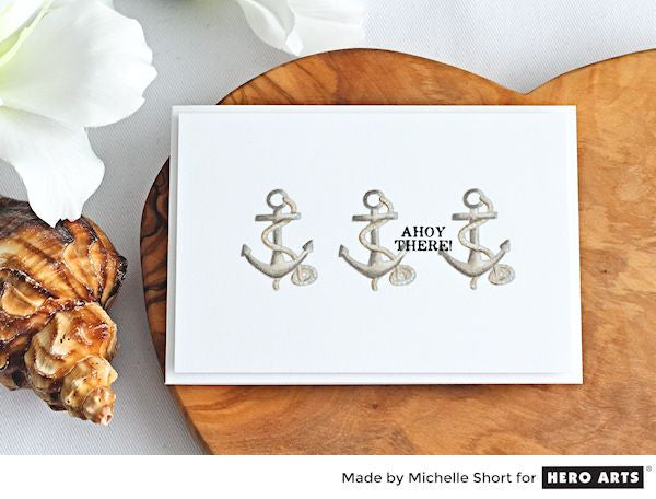 Ahoy There by Michelle Short for Hero Arts