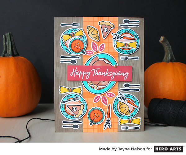 Thanksgiving Table by Jayne Nelson for Hero Arts