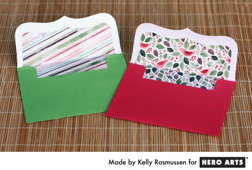 Hero  Arts Envelope Liners by Kelly Rasmussen