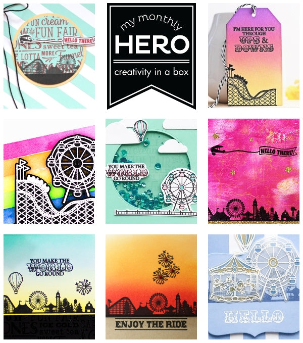 July 2018 My Monthly Hero is Here! + Giveaway! Page 2   Hero Arts