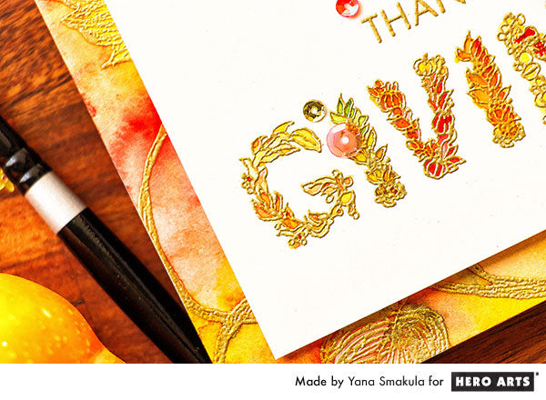 Happy Thanksgiving Card by Yana Smakula for Hero Arts