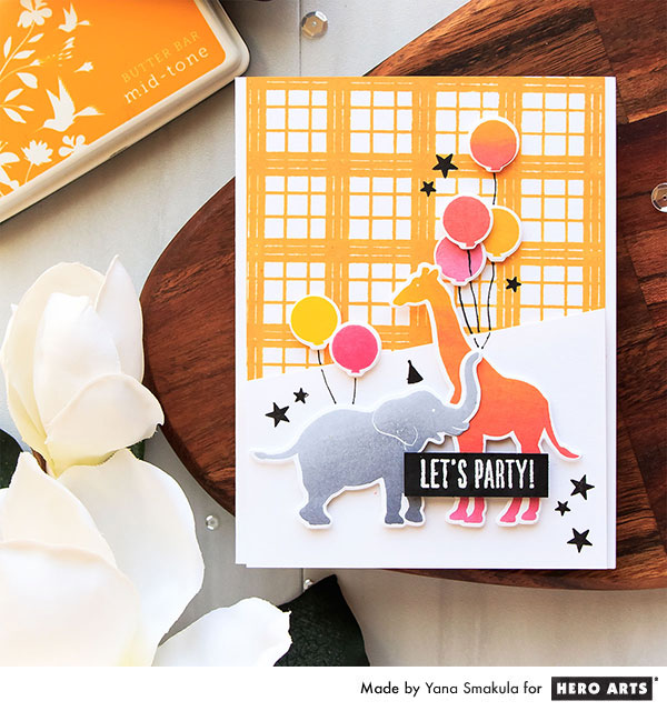 Let's Party Birthday Card by Yana Smakula for Hero Arts