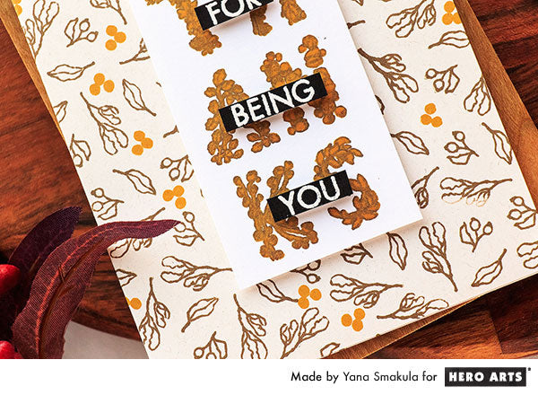 Thanks For Being You Card by Yana Smakula for Hero Arts