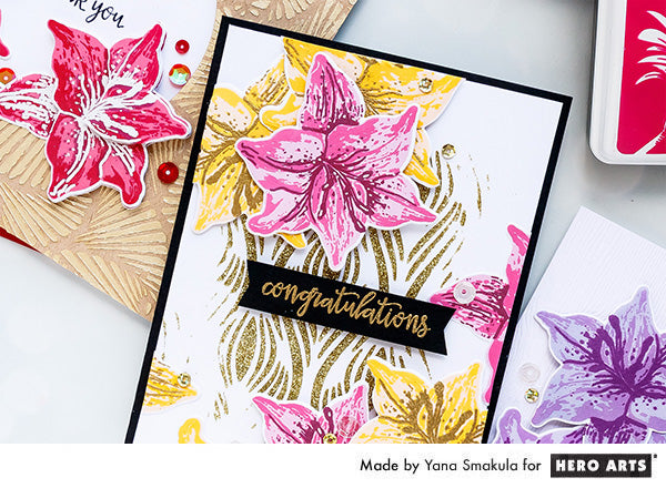 Congratulations Card by Yana Smakula for Hero Arts