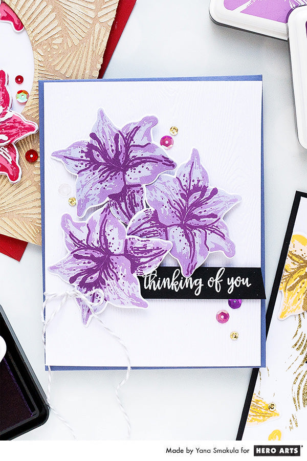 Thinking Of You Card by Yana Smakula for Hero Arts