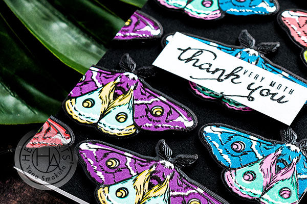 Thank You Very Moth Card by Yana Smakula for Hero Arts