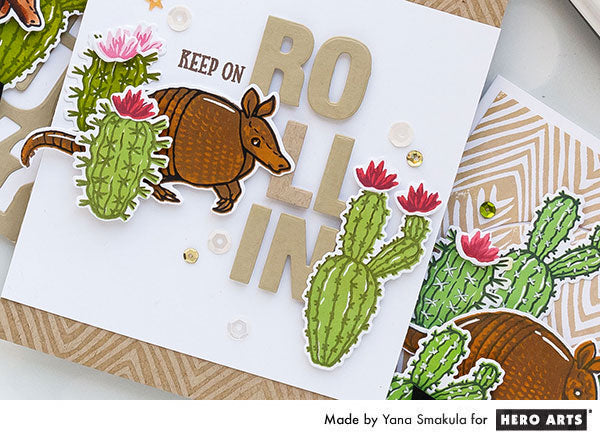 Keep on Rollin Card by Yana Smakula for Hero Arts