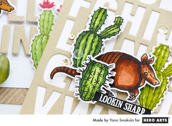 Looking Sharp Card by Yana Smakula for Hero Arts
