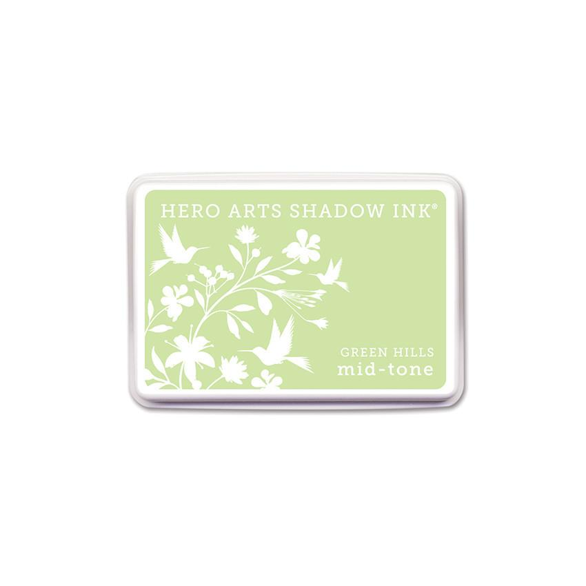 Hero Arts Shadow Ink Green Hills