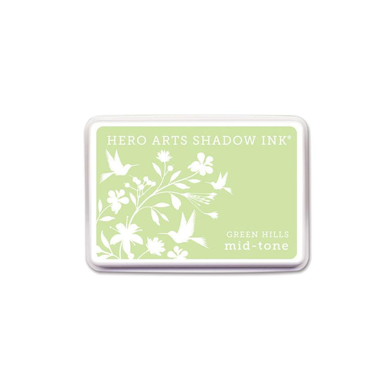 Hero Arts GREEN HILLS MID-TONE SHADOW INK