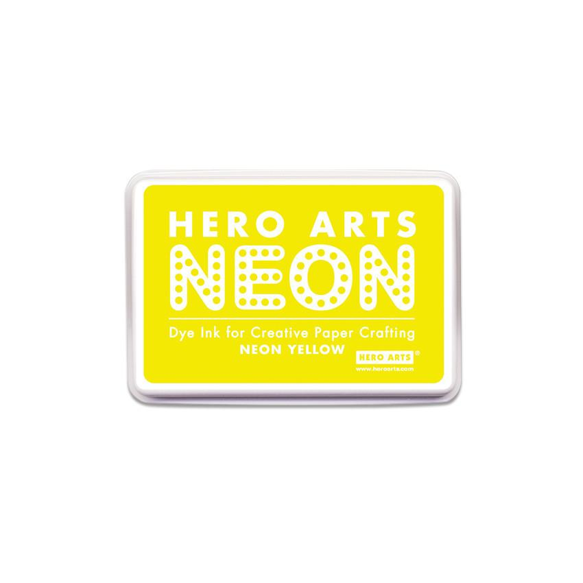 AF220 Yellow Neon Ink Pad