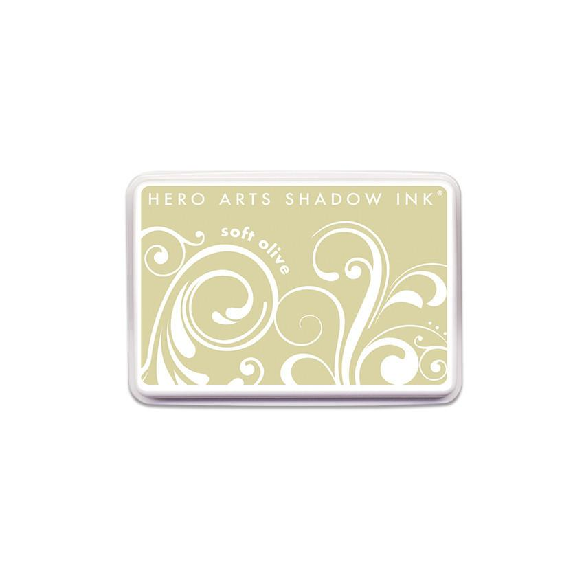 AF222 Soft Olive Shadow Ink