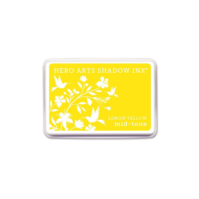 AF261 Lemon Yellow Mid-Tone Shadow Ink