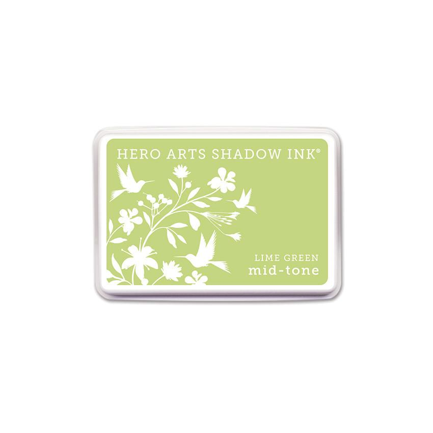 Lime Green Mid-Tone Shadow Ink