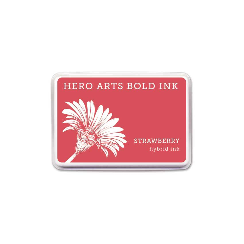 Hero Arts Strawberry Bold Ink